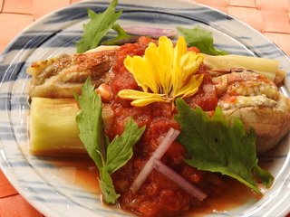 おやさい食べよ202006茄子・トマト.JPG
